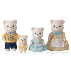 Sylvanian Families Polaris Polar Bear Family