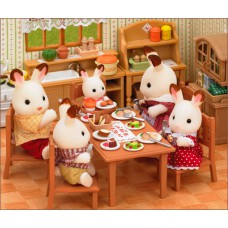 Sylvanian Families Dining Table Set