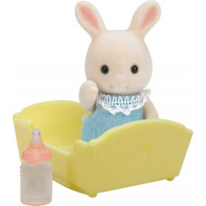 Sylvanian Families Periwinkle Milk Rabbit Baby