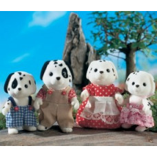 Sylvanian Families Kennelworth Dalmation Dog Family