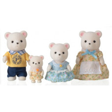 Sylvanian Families Polaris Polar Bear Family