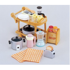 Sylvanian Families Kitchen Cookware Set