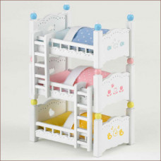 Sylvanian Families Triple Bunk Bed