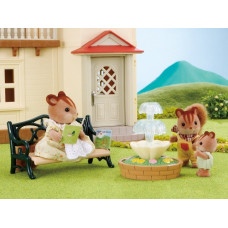 Sylvanian Families Bench and Fountain