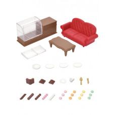 Sylvanian Families Town Series - Chocolate Lounge Set