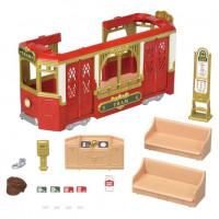 Sylvanian Families Town Series - Ride Along Tram