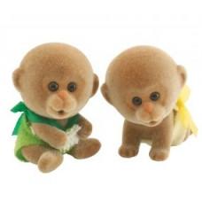 Sylvanian Families Darwin Monkey Twin Babies